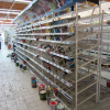 rayonnage magasin bricolage