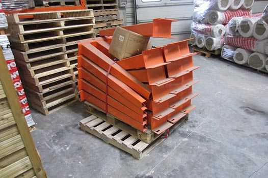 Accessoire cantilever occasion orange