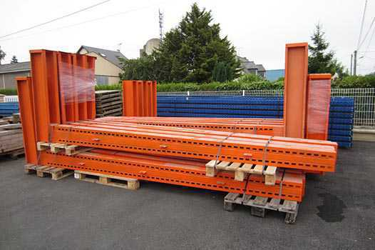 Stock Cantilever occasion orange