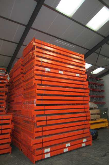 Rack de stockage orange occasion