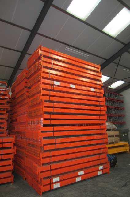 Rack de stockage orange occasion