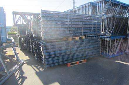 Rack stockage occasion metal