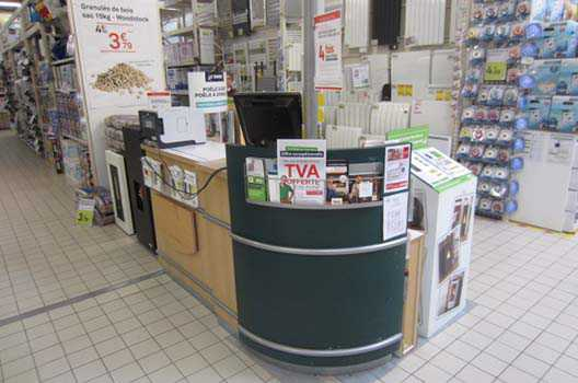 Amenagement caisse magasin Occasion