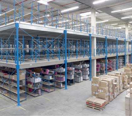 Mezzanine industrielle neuve