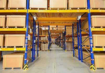 Rayonnage industriel occasion